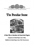 Download 'Peculiar Stone' (PDF)